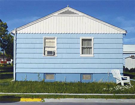Bozeman House Three by Michael Ward