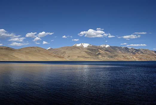 Brackish Blue...Tso Moriri by Rohit Chawla