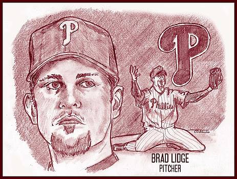 Brad Lidge by Chris  DelVecchio