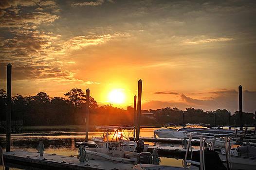 Bradley Creek Sunday Sunrise #3 by Phil Mancuso