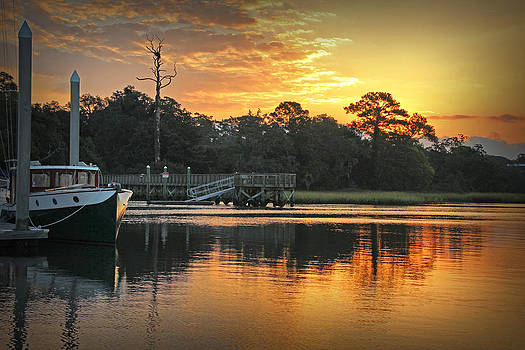 Bradley Creek Sunrise #1 by Phil Mancuso