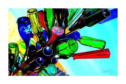 Branches of Bottles by Sharon  Lavoie