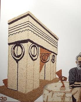 Brancusi's work 2 by Kovats Daniela
