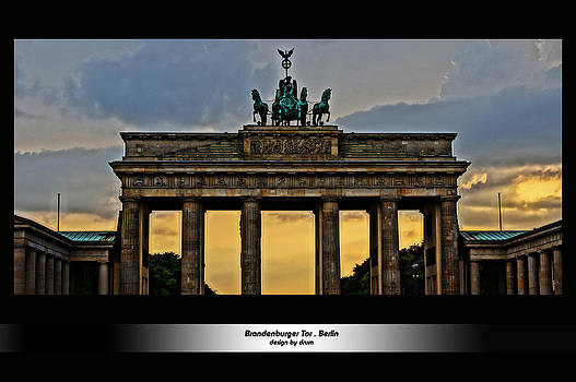 Alexander Drum - Brandenburger Tor Berlin HDR