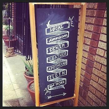 Branding #love #chalkboard #ornhansen by Lacie Vasquez