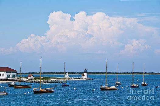 Brant Point Seascape by Kim Quintano