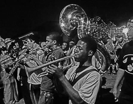 Brass Band in New Orleans by Louis Maistros