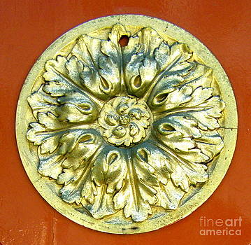 Carolyn Kami Loughlin - Brass Door Medallion