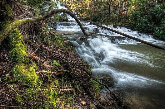 Brasstown Falls South Carolina by Dustin Ahrens