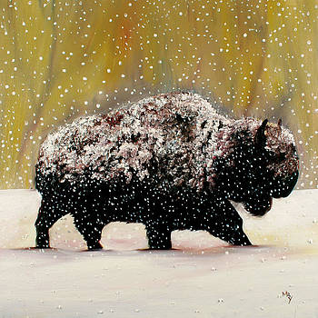 Braving the Snow by Matthew Young
