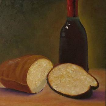 Bread and Wine by Barbie Baughman