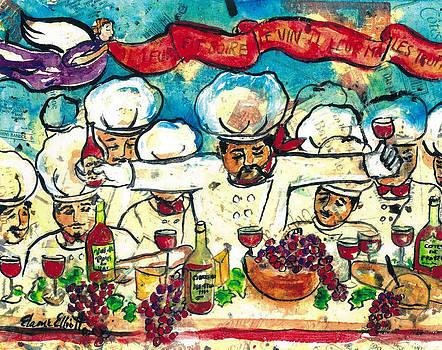 Break the Bread Drink the Wine Eat the Truffles by Elaine Elliott