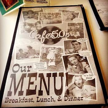 Breakfast Con Los Padres. #cafe50s by David S Chang