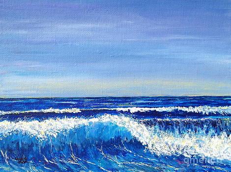 Breaking Wave II by Julie Wrathall