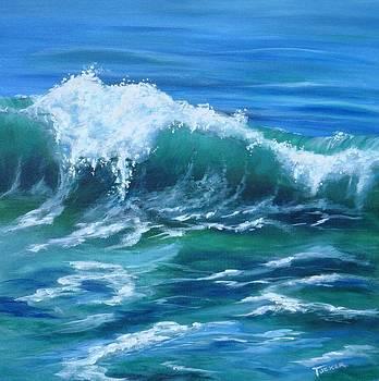 Breaking Wave by Kathleen Tucker