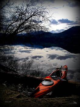 Guy Hoffman - BreakTime Kayaking Skaha Lake 03-18-2014