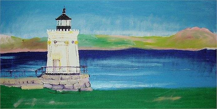 Breakwater Lighthouse by Catherine Worthley