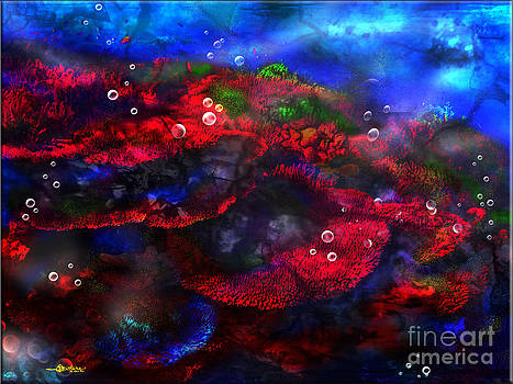Breath taking Coral Reef by Christine Mayfield