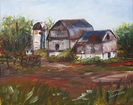 Brebeuf Road Barn by Monica Ironside
