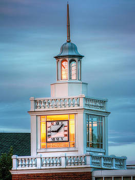 Brecksville Clock Tower by Jenny Ellen Photography