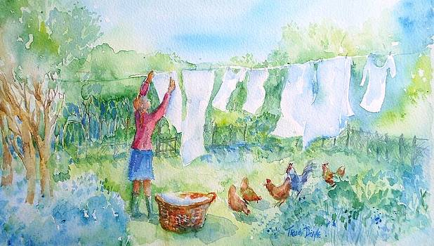 Trudi Doyle - Breezy Day  -Great drying out