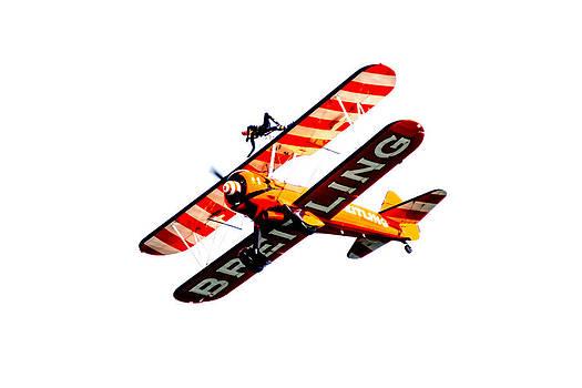 Breitling Wingwalker High Contrast Sunderland Air Show 2014 by Scott Lyons