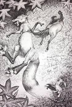 Brer Fox Catches the Saddle Horse by Lena Quagliato