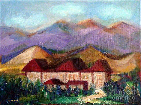Bretton Woods NH by Karen Francis