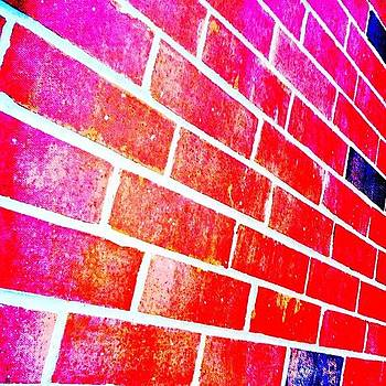 Brick Wall by Akim  Lai-Fang