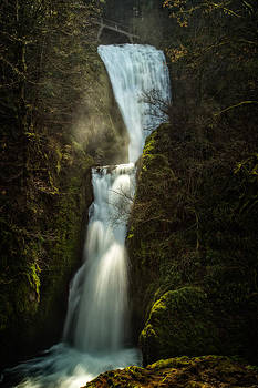 Bridal Veil Falls by Joe Hudspeth