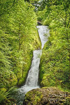 Bridal Veils Falls Oregon by Carrie Cranwill