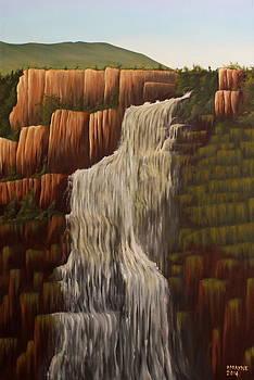 Bridal Waterfall by Patrick Mayne