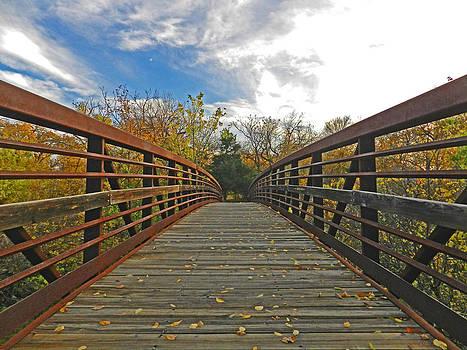 Bridge at Bear Creek  by Mamie Thornbrue