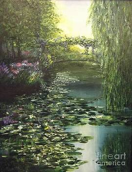 Bridge at Giverny by Lizzy Forrester