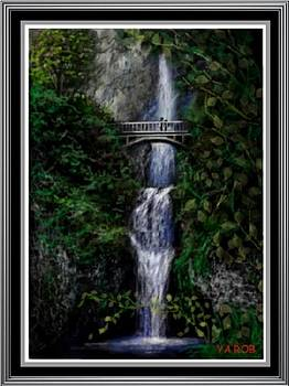Bridge at Lover's Falls by YourArtist Rob