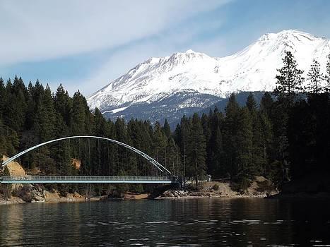 Bridge at Mt. Shasta by Gary Rathjen
