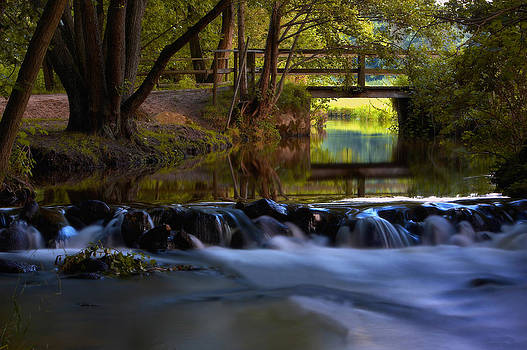 Bridge at the Creek by Jay Evers