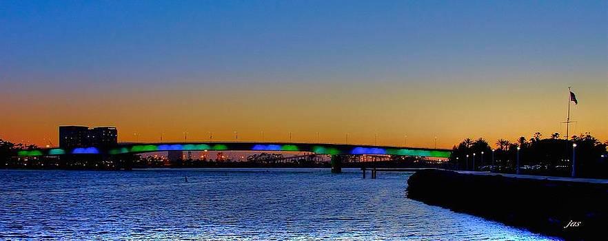 Bridge at Twilight by Judith Szantyr