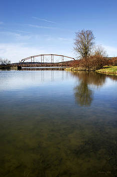 Bridge At Upper Lisle by Christina Rollo