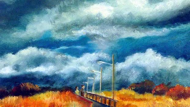 Bridge by Pier by Robert Harvey