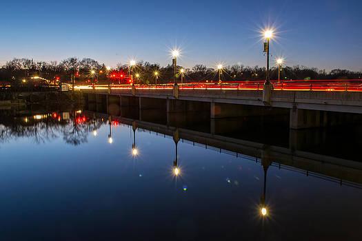 Bridge by Street light by Robert Painter