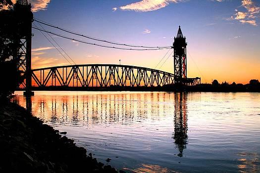 Bridge Down Sundown by Matthew Grice