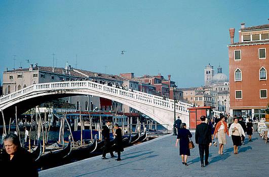Ponte degli Scalzi Venice 1961 by Cumberland Warden