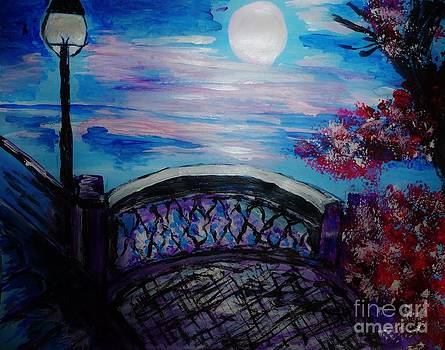 Bridge in the Park by Marie Bulger