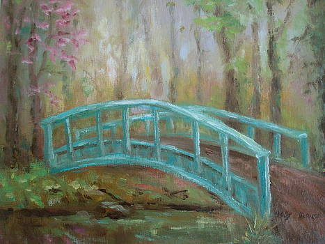 Bridge Into Spring by Holly LaDue Ulrich