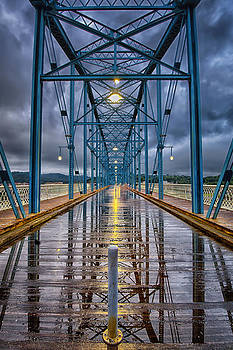 Bridge mirror by Ben  Keys Jr