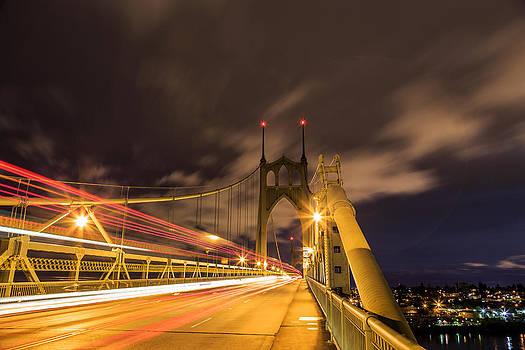 St Johns Bridge of Light by Jarred Decker