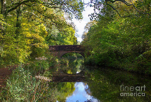 Bridge over a Canal by Chris  Clark