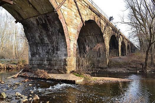 Bridge over Stream by Tim Toomey