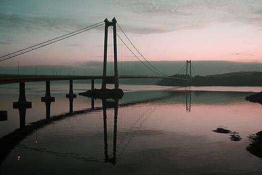 Bridge Over the Fjord by Sonya Kanelstrand